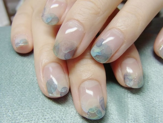 Water Marble Nail Art Without Using Ombre Hearts On Nails 7588769fe670f59105c7f696c5aae145 My