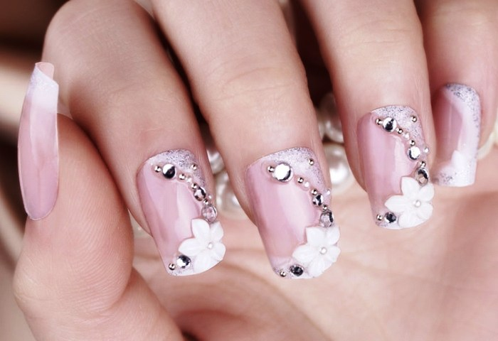 Nail Ideas For Wedding Day