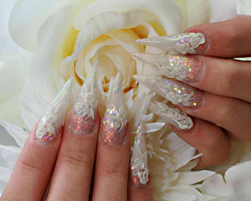 Nail Ideas For Wedding Day 6 Inkcloth