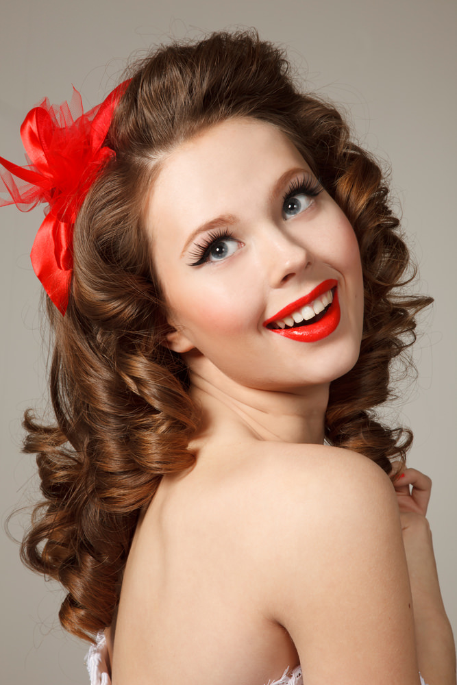 Pin Up Girl Hairstyles 8 - Inkcloth