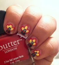 Thanksgiving Nail Polish Ideas - Inkcloth