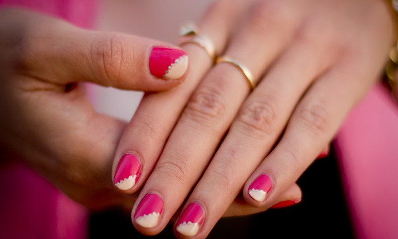 Pink Nail Art Ideas
