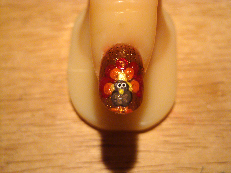 Thanksgiving Nail Design Ideas Picture