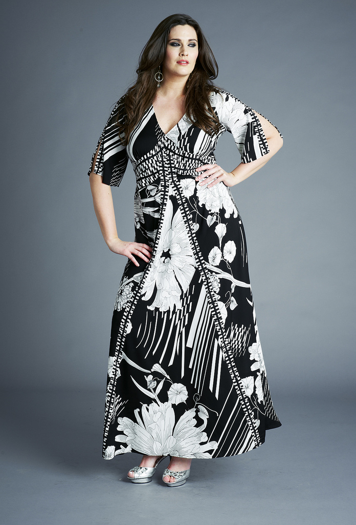 Maxi Dresses For Plus Size Women Inkcloth