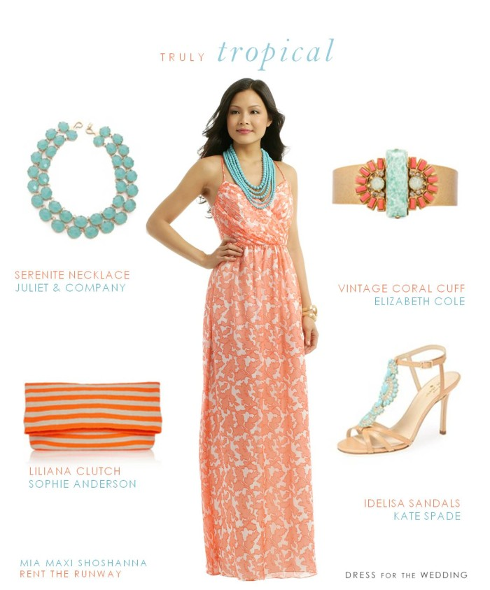 Maxi Dresses For Wedding Guest - Inkcloth