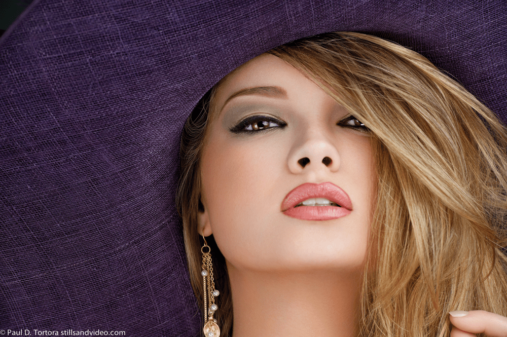 Anna Amore Purple Hat Spring Collection