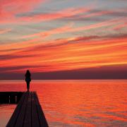 Hatterass Sunrise 33-12 Photo Peter Daitch