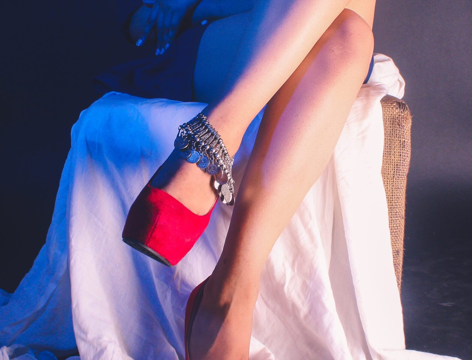 Smooth legs laser hair removal