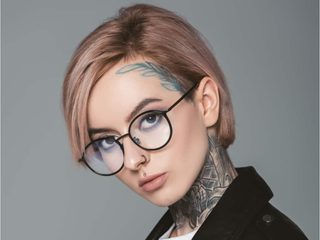 Laser Face tattoo removal