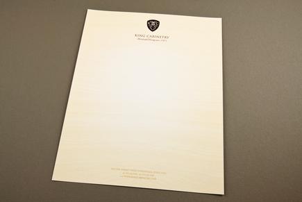 Elegant Cabinetry Letterhead Template Inkd
