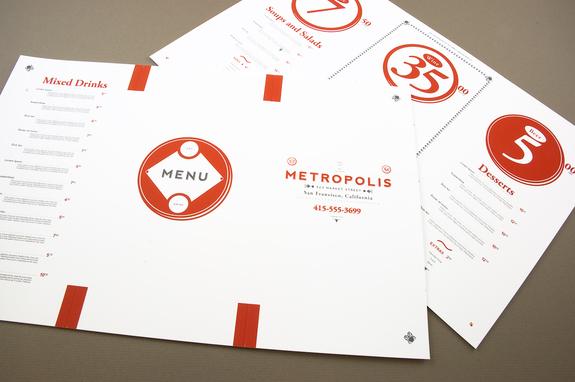 Restaurant and Bar Menu Template | Inkd