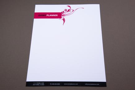Event Planner Letterhead Template Inkd