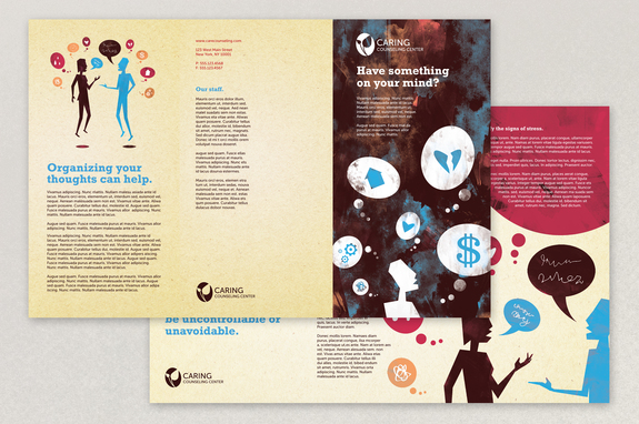 Counseling Brochure Template Inkd