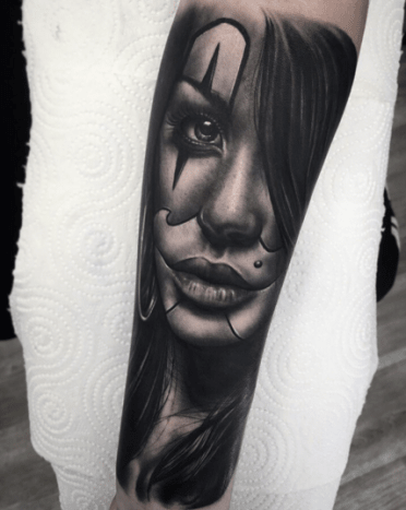 Chicano Tattoos Meanings : chicano, tattoos, meanings, Payasas, Become, Cultural, Symbol, Chicano-Style, Tattooing, Tattoo, Ideas,, Artists, Models