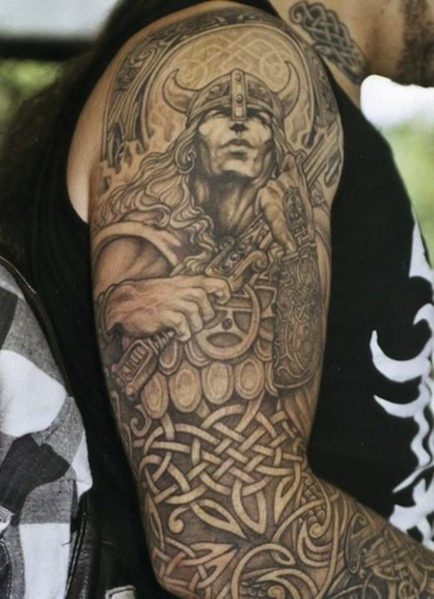 Norse Tribal Tattoo : norse, tribal, tattoo, Viking, Tattoos, Inspire, Norse, Inked, Magazine, Tattoo, Ideas,, Artists, Models