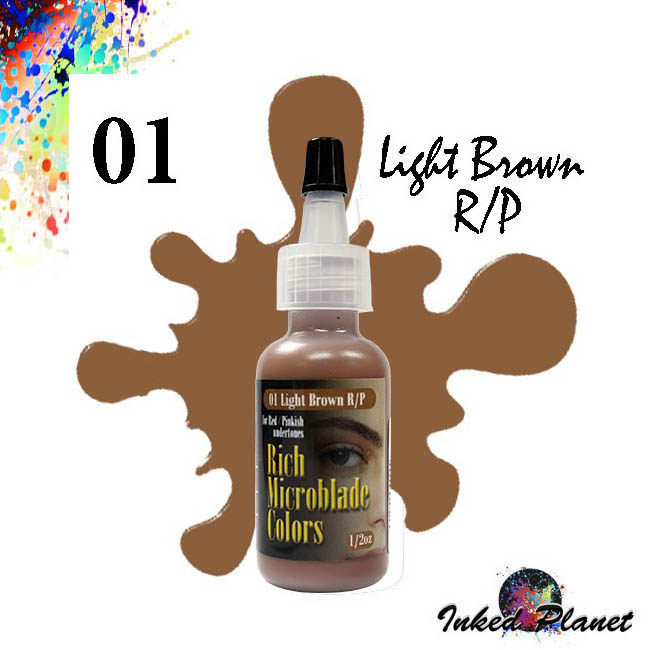 01 Light Brown R/P 15ml