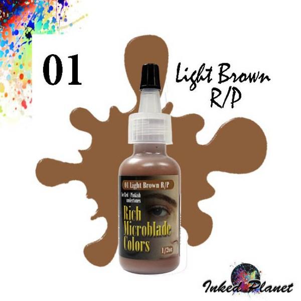 01 Light Brown R/P 15ml