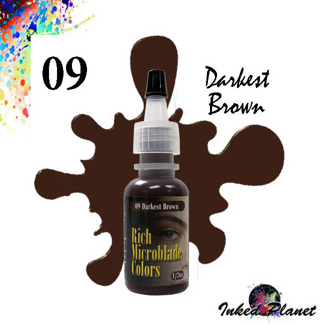 09 Darkest Brown 15ml