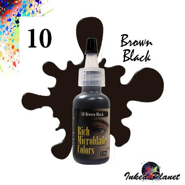 10 Brown Black 15ml