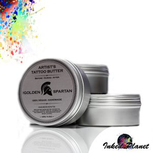 Golden Spartan Tattoo Butter