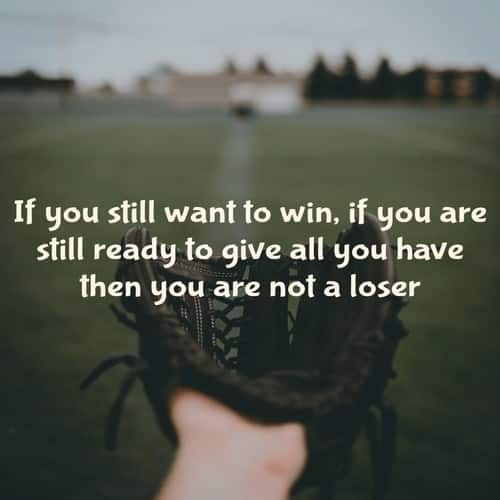 Baseball Saying About Loser