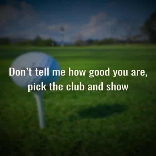 quotes for golfers