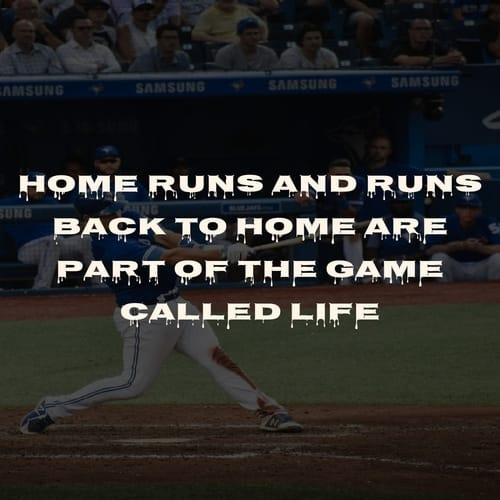 Baseball Quote About Failure
