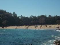 Approaching Shelley Beach