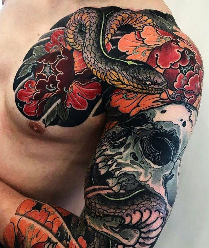Tatuaje Japones Algo Más Que Un Tattoo 54 Tattoos Japoneses