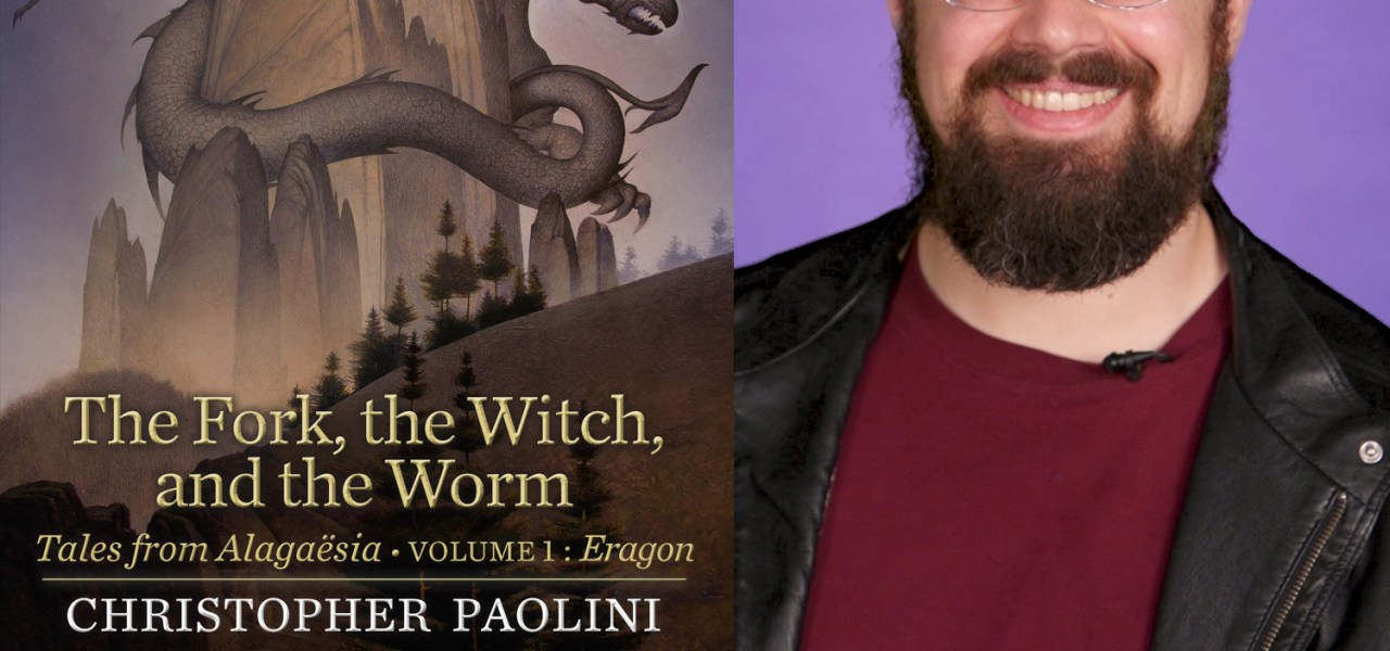Podcast Episode 18: Christopher Paolini on his new Alagaesia book THE FORK, THE WITCH, AND THE WORM!