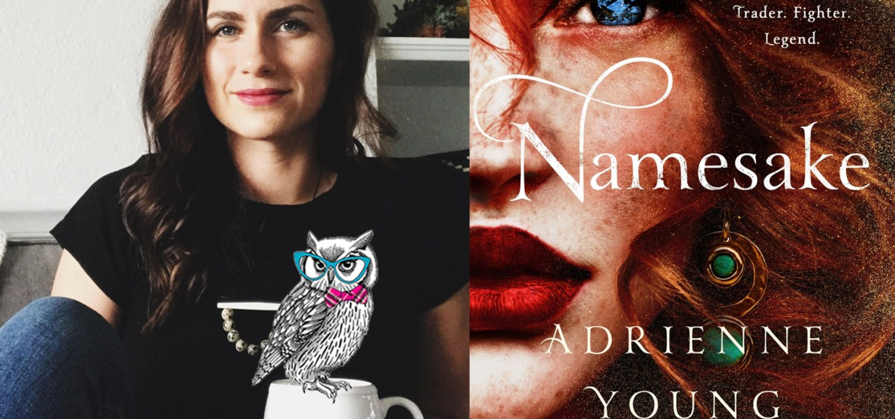 Podcast episode 54- Adrienne Young on Namesake and the magic of connecting with your creativity