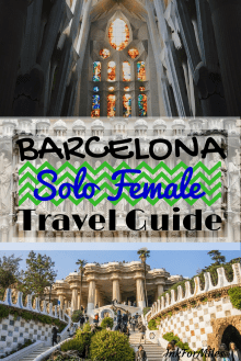 barcelona solo female travel