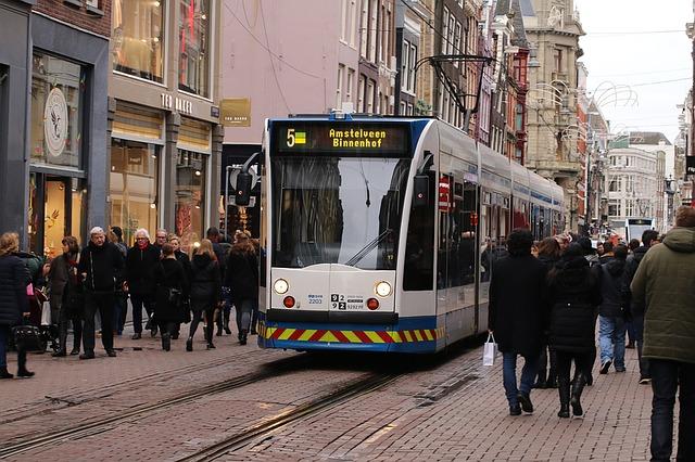 getting around amsterdam