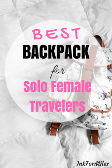 best backpack for solo female travel