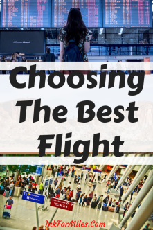 how to choose the best flight