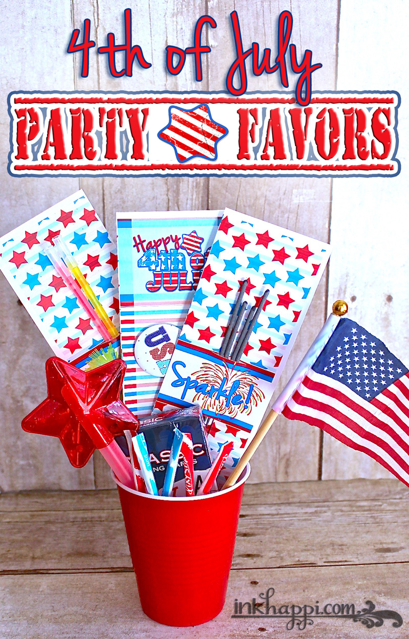 4th Of July Party Favors Cheap And Easy DIY! Inkhappi