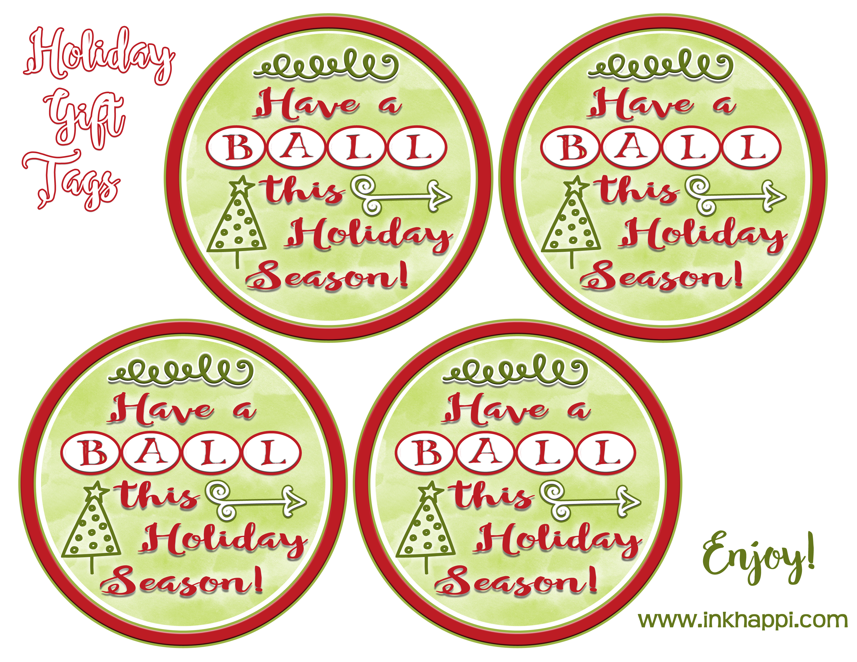 Neighbor Gift Idea For The Holidays And Free Printable