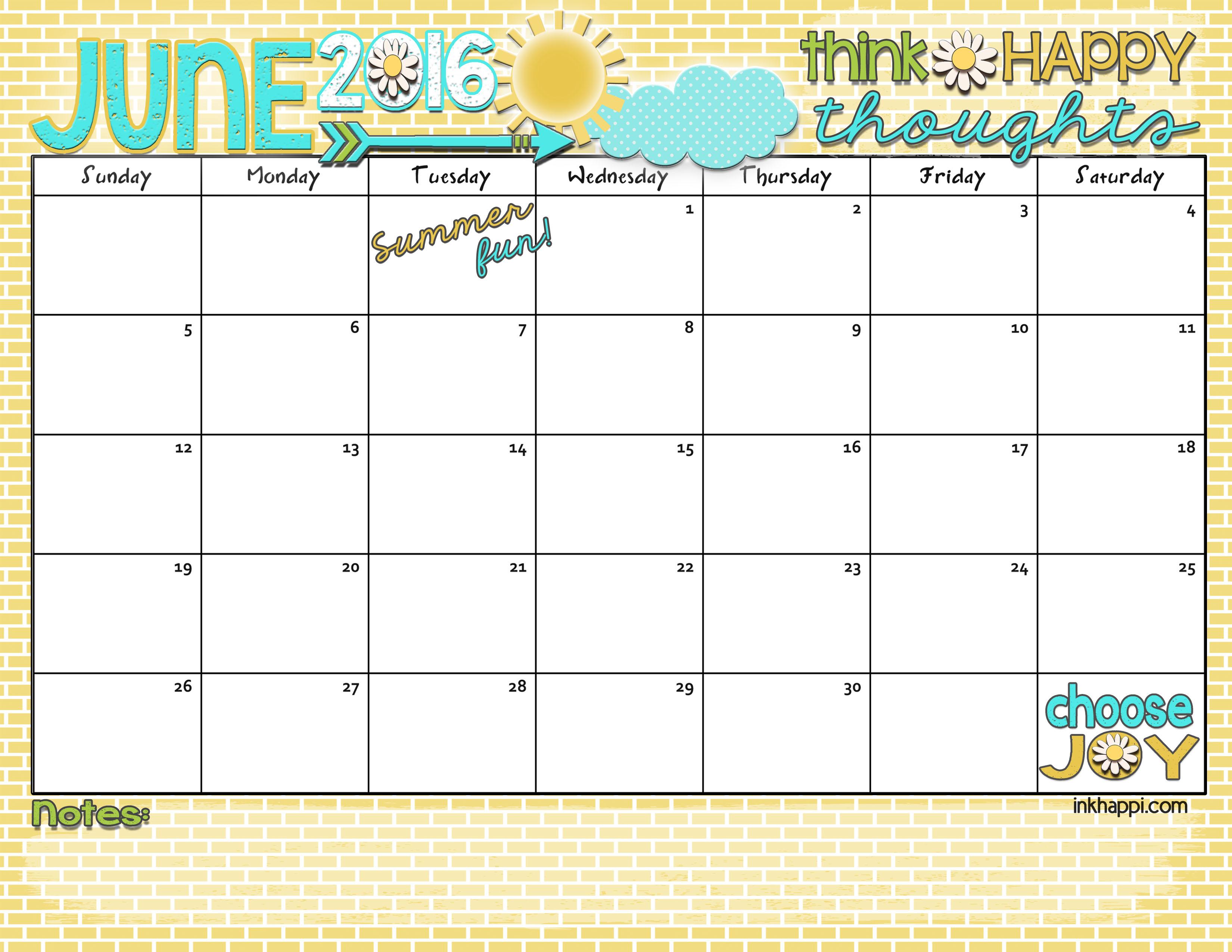 Free Online Calendar Printable | Online Calendar Reminder Service