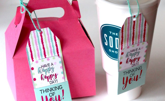 Thinking Of You Gift Tags And Ideas To Make Someone Happy