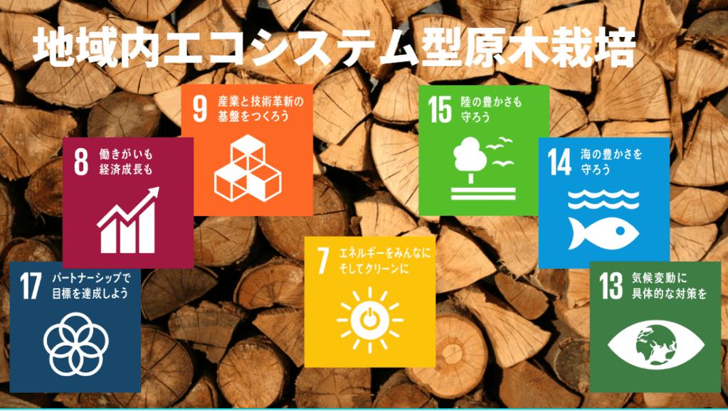 地域内エコシステム型原木栽培