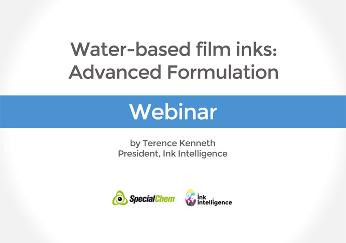 Water-based film inks – Webinar Registration
