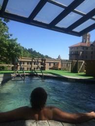 Arlington patio hot tub