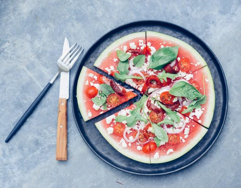 Recette pizza pastèque