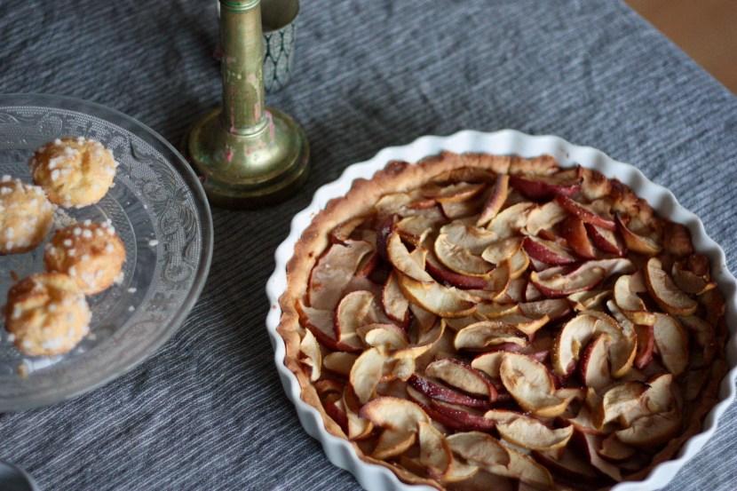 Tarte aux pommes d'antonella Latus