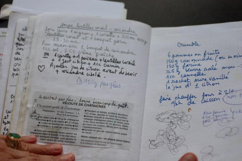 Cahier de recettes Lucille 5