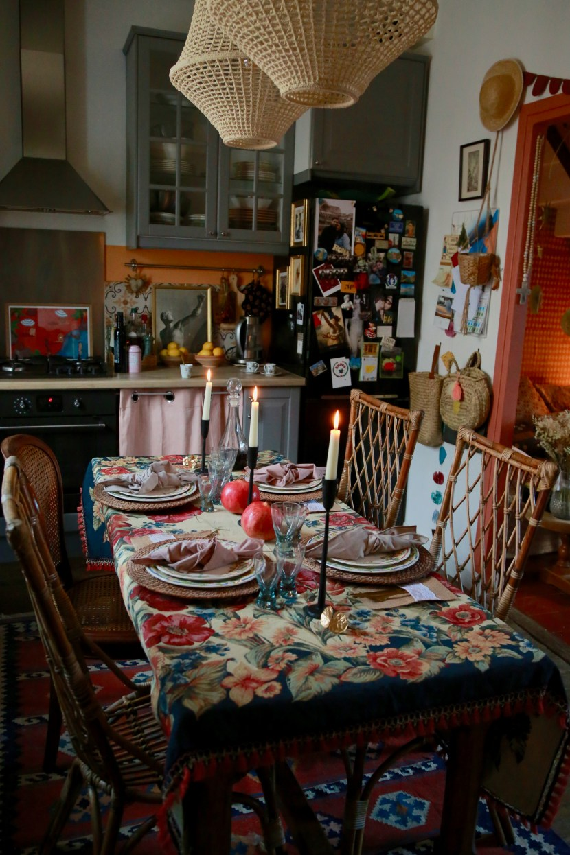 Table chez Camille