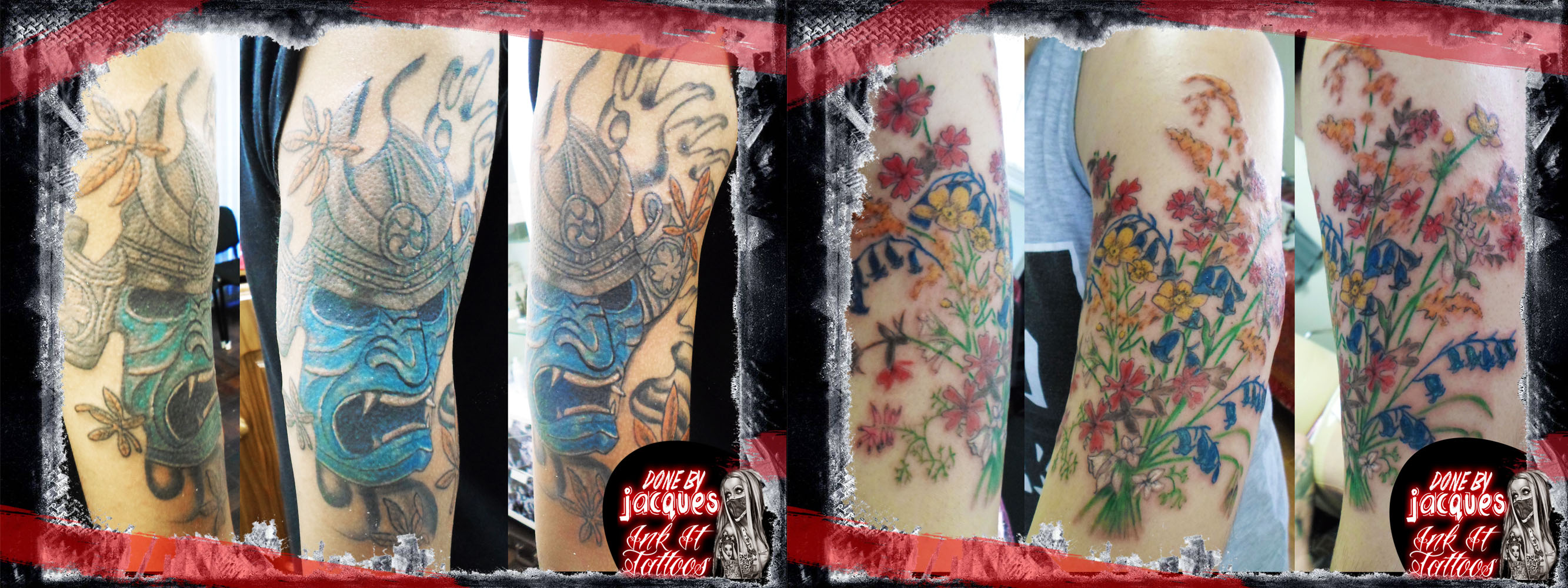Tattoos done by Ink It Tattoos in Durban