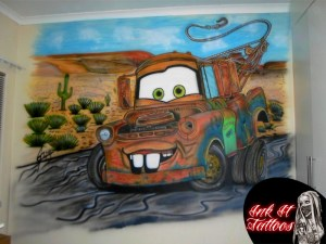 Mater Airbrushed by Ink It Tattoos Durban