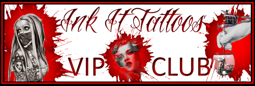 Ink It Tattoos VIP Club Banner