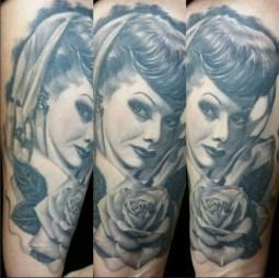 Tattoo by Big Ceeze. [Photo: Instagram/biggceeze]